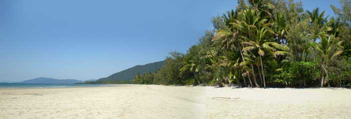 good weather and sunshine in cape tribulation