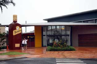 big bundaberg bottle