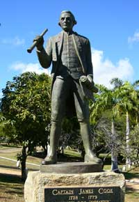 james cook,  discoverer of the endeavour river