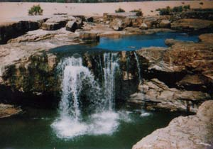 leichardt falls outback queensland
